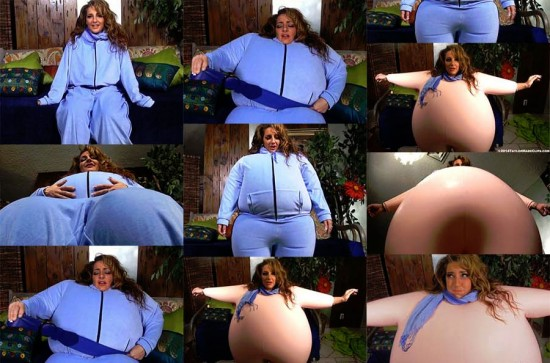 Body Inflation Interactive: Big Sexy Balloon Skin -  Savanna Fox