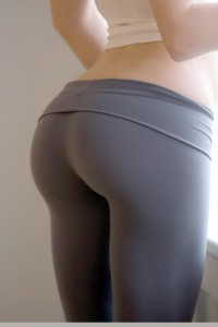 Fat Butt In Yoga Pants